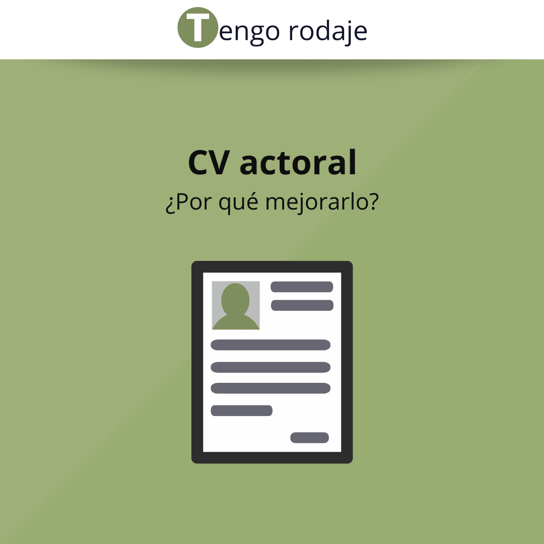 CV actoral flyer